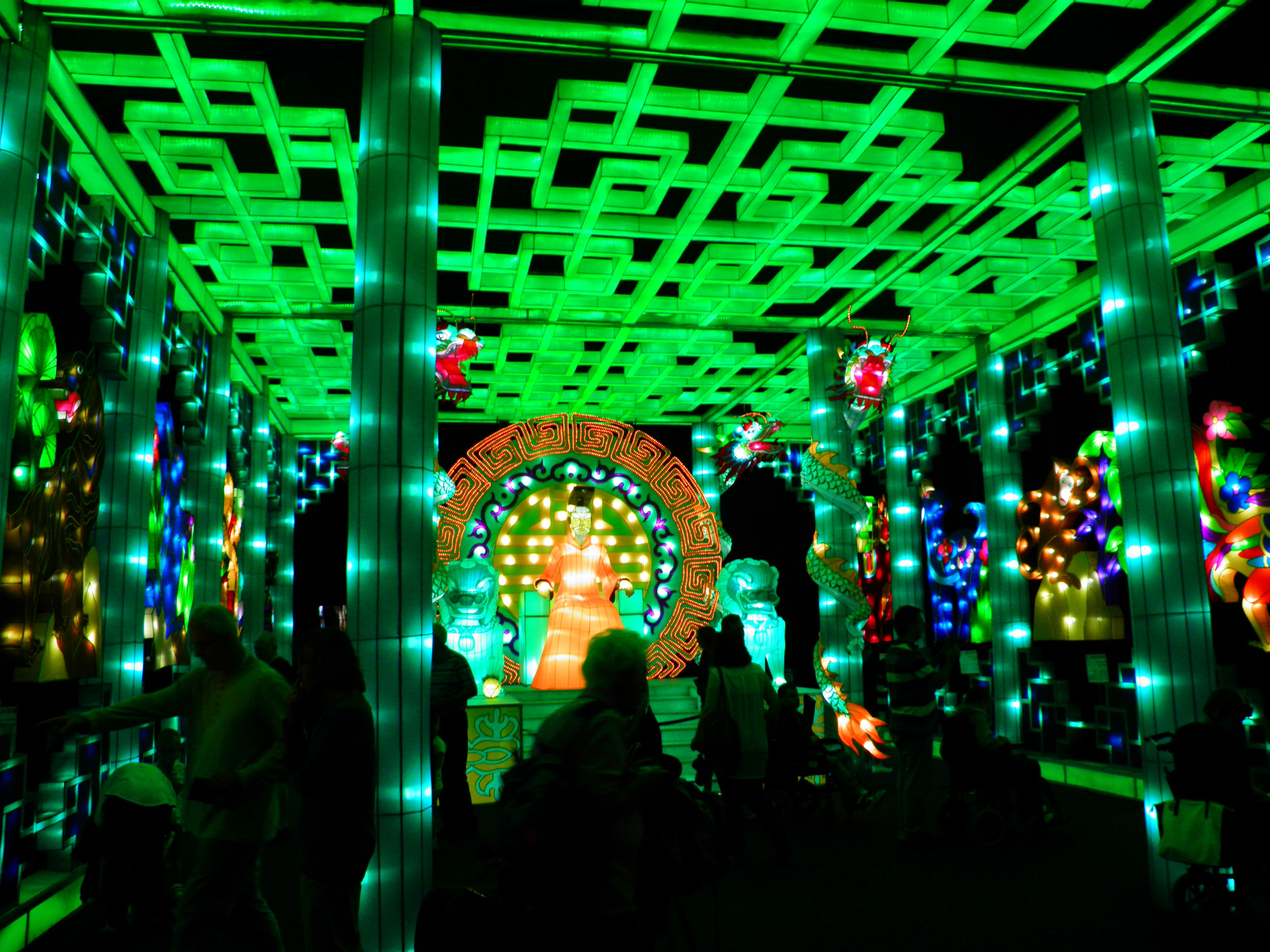 illuminasia blackpool indoor illuminations attraction at winter