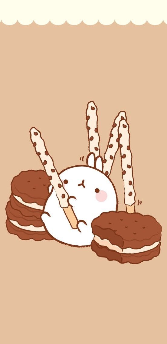 Pin by Madison Greenly on Molang   Cute cartoon wallpapers ...
