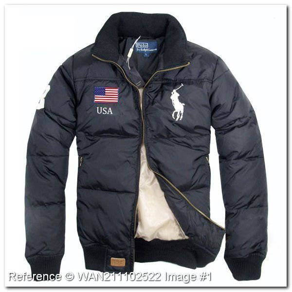 feabd3d378b0 Polo Ralph Lauren. Down Jacket. USA. Gray Color.