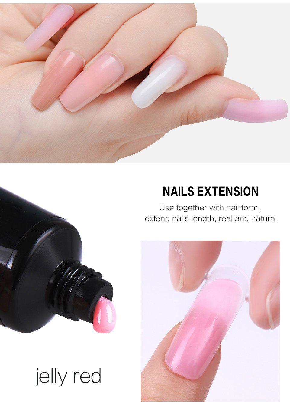 Polygel Nail Builder Nail Trends Nail Design Nail Ideas Pretty Nail Different Nail Nail Inspiration Nail Stuff Mul Polygel Nails Gel Manicure Gel Art Designs