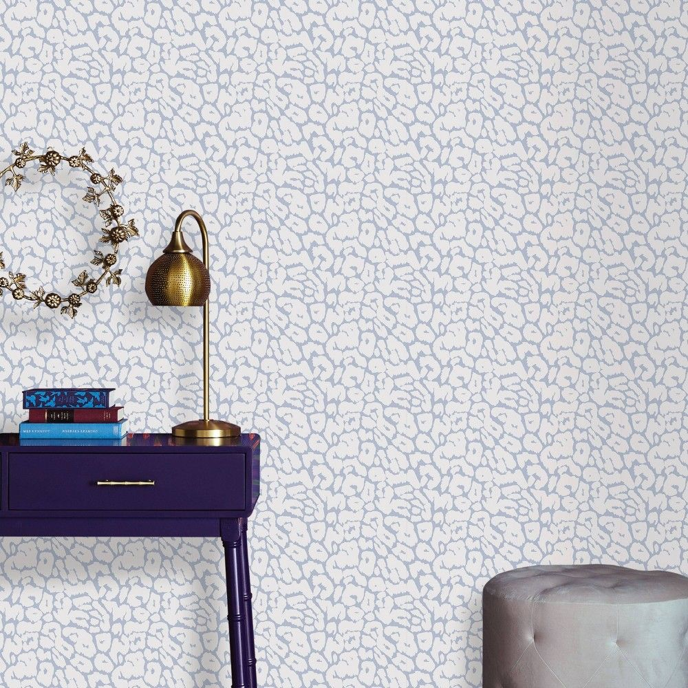 Animal Print Peel Stick Wallpaper White Gray Opalhouse Peel And Stick Wallpaper Opalhouse Wallpaper