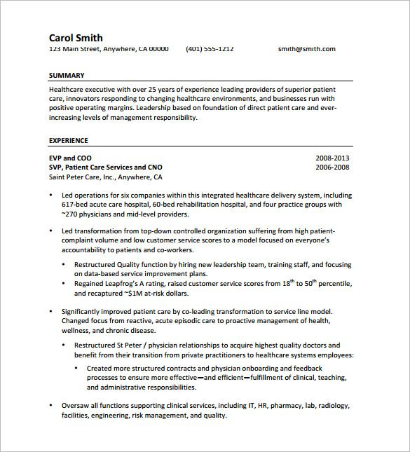 Senior Manager Resume Template Senior Executive Resume Free  Executive Resume Template And What .