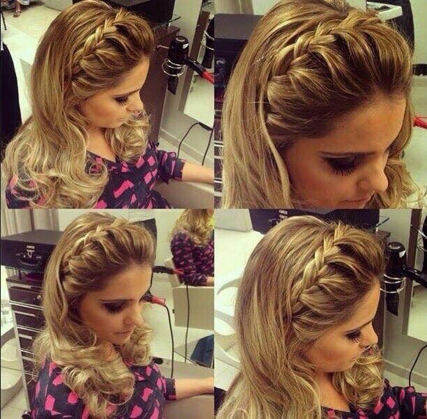 Peinado Trenza Cabello Suelto Peinados Hair Styles Hair Hair Styles