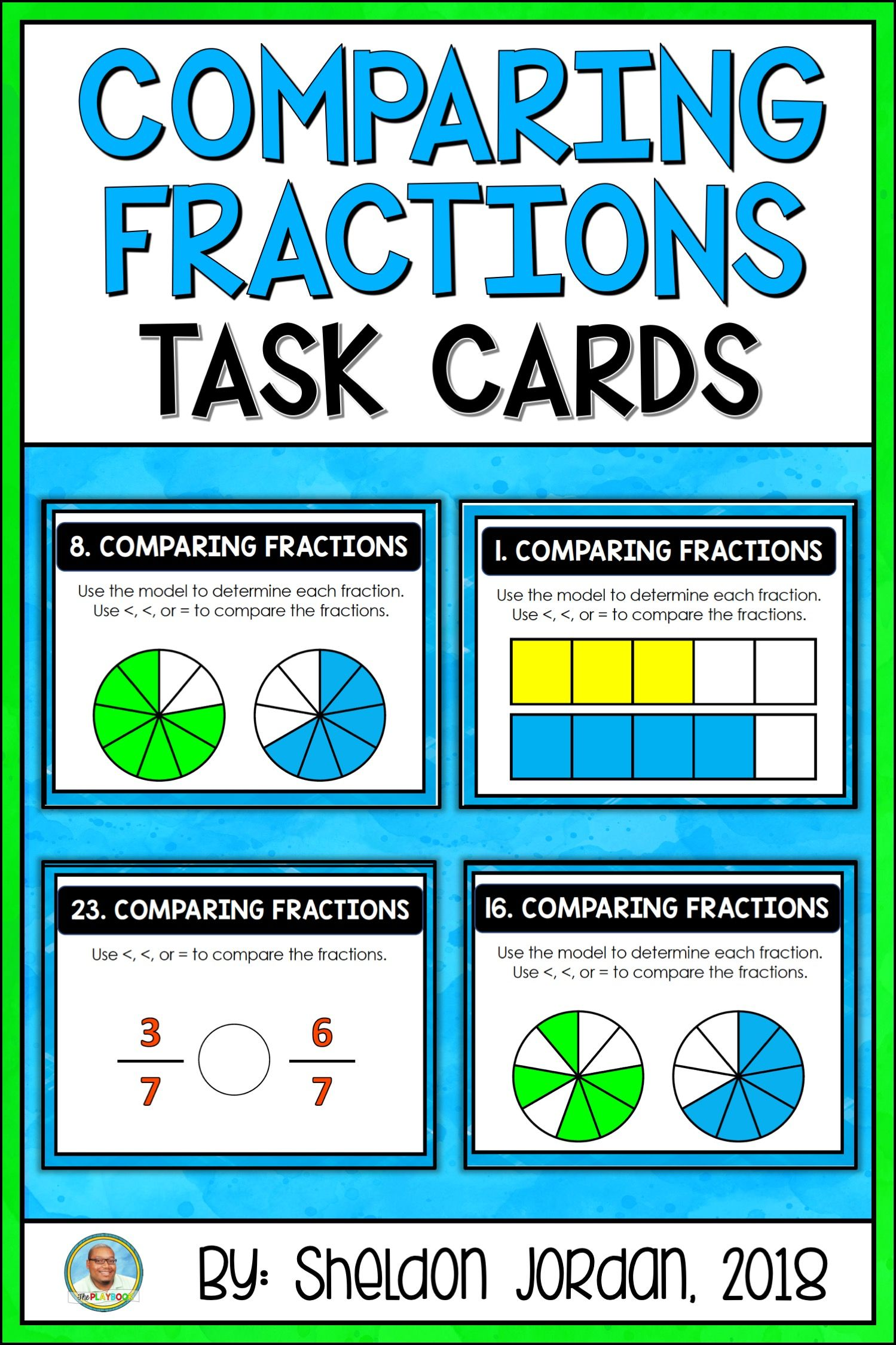 Comparing Fractions With Same Denominators And Same