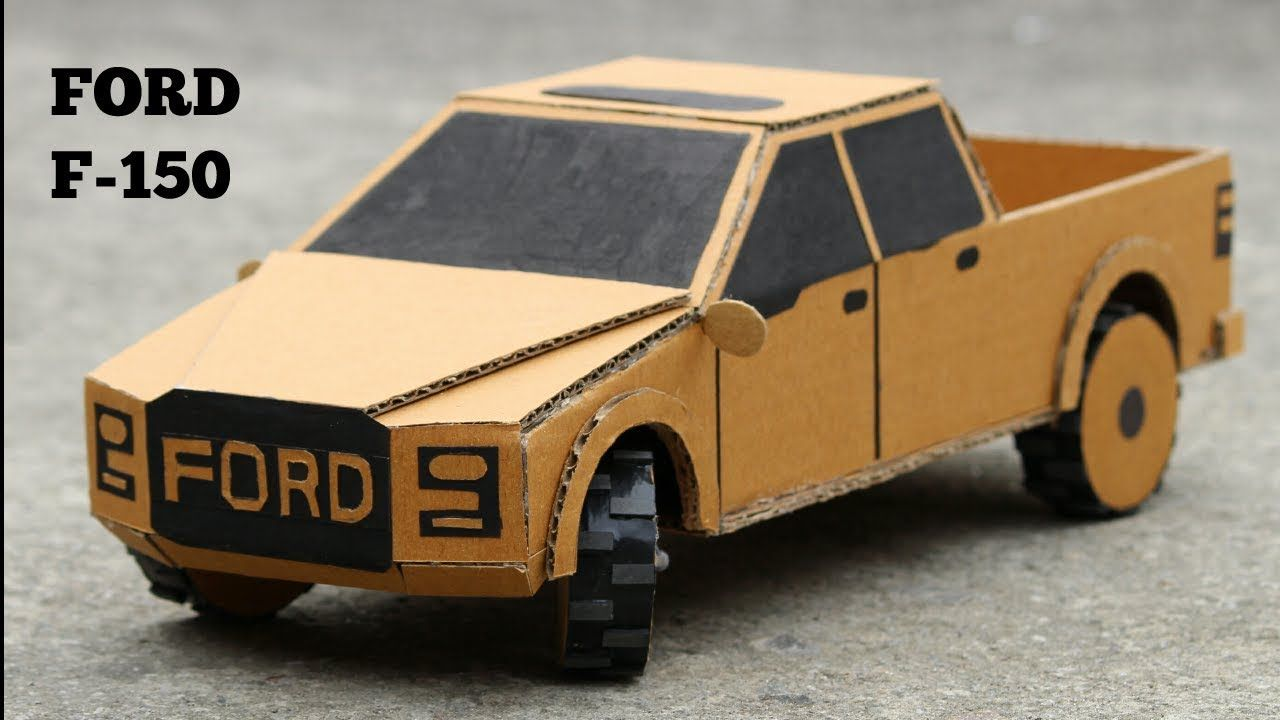 How to make Ford F150 RC Car DIY - Very Simple | diy rc