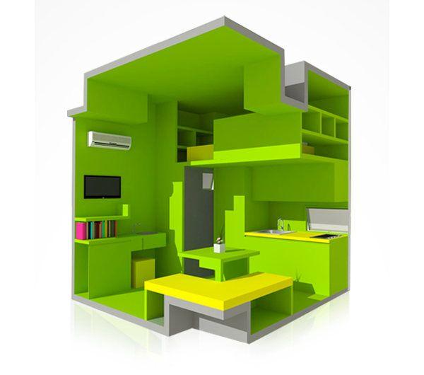 tiene la nano casa tiny houses home decor. Black Bedroom Furniture Sets. Home Design Ideas