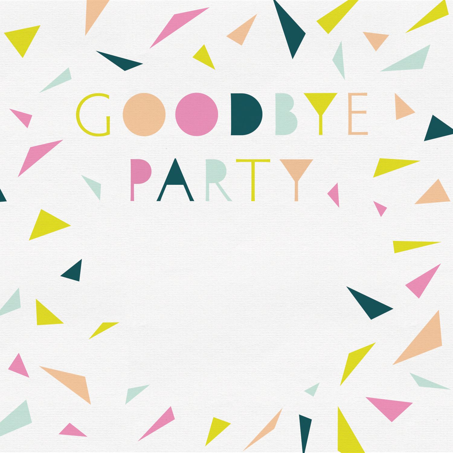 Goodbye Party Retirement Farewell Party Invitation Template