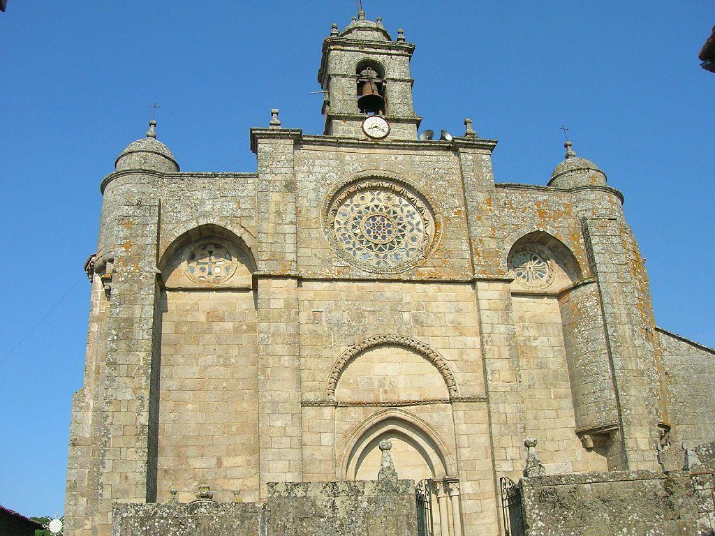 Orense Igrexa De Santa Mariña De Augas Santas Allariz Santa Marina Marina Provincia