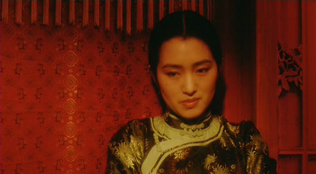 Somewhere • Gong Li as Juxian, in 霸王別姬 (Farewell My