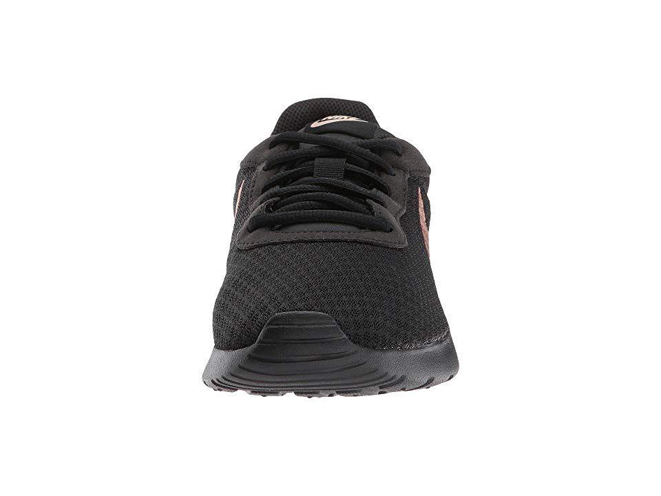 35b74570f6d Nike Tanjun Women s Running Shoes Black Metallic Red Bronze ...