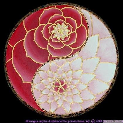 Pretty lotus flower yin yang tattoo idea http bestpickr for Jardin yin yang