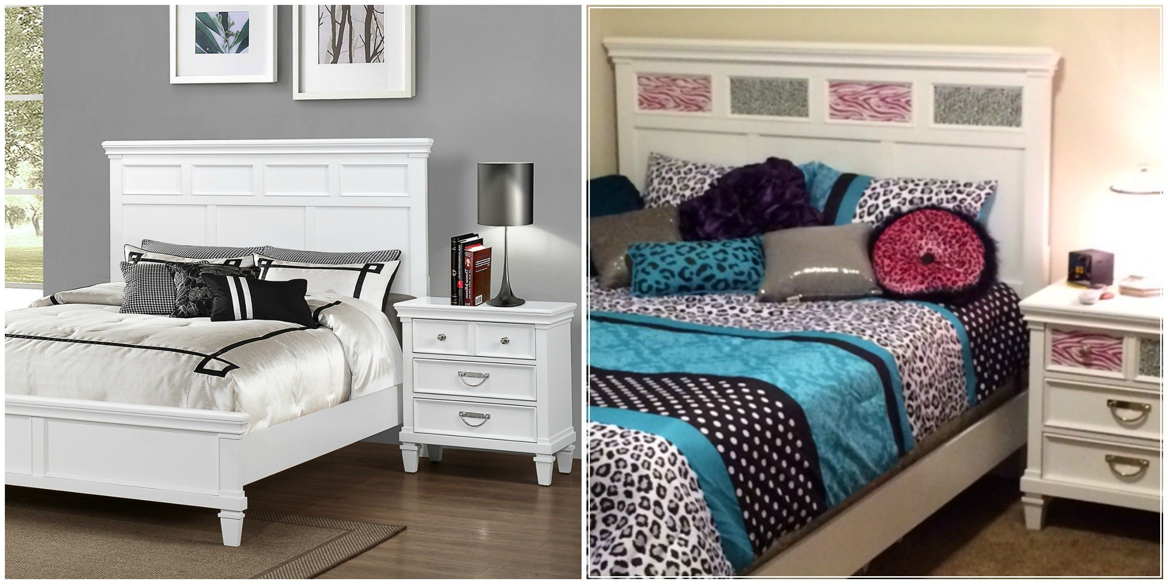 """""""we love the white bedroom set we purchased from sans"""