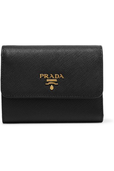 11f7dc2724c71 PRADA Textured-Leather Wallet.  prada  bags  leather  wallet  accessories