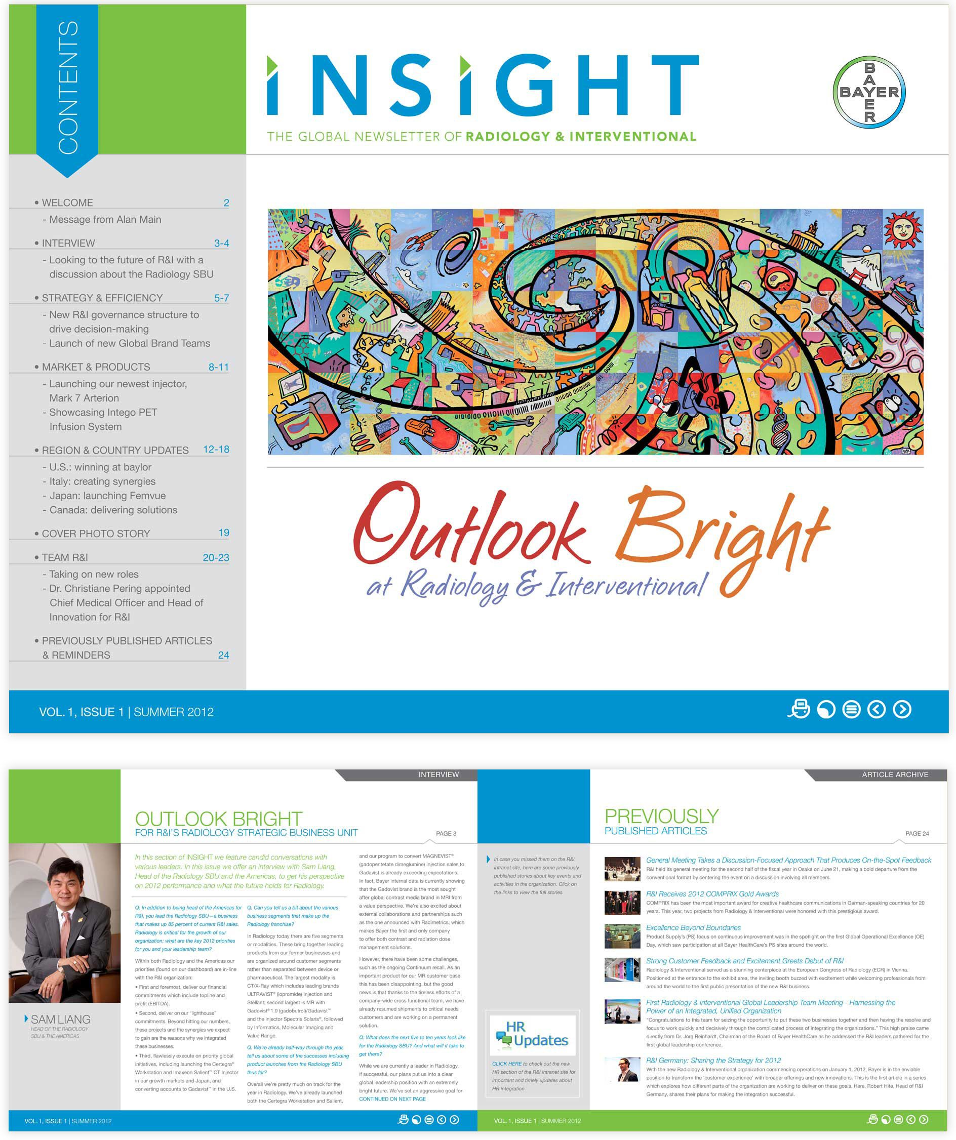 creative newsletter design templates google search newsletter