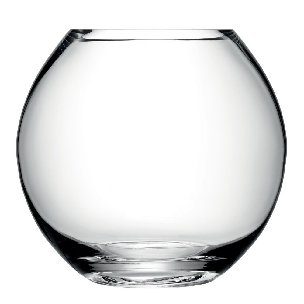 Round Glass Floral Vases