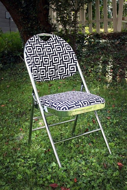 Folding Chair Makeover Diy Inspiration Office Chair