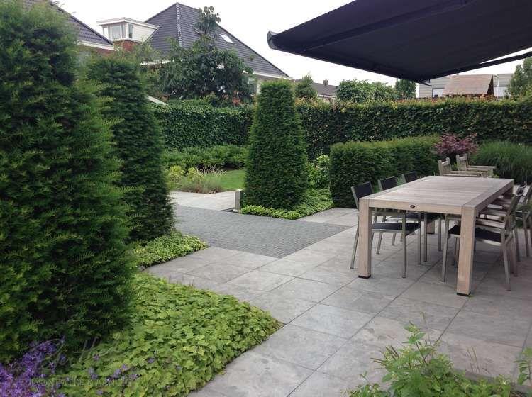 Voorbeeldtuinen modeltuin tuinvoorbeelden tuinfoto for Achtertuin voorbeelden