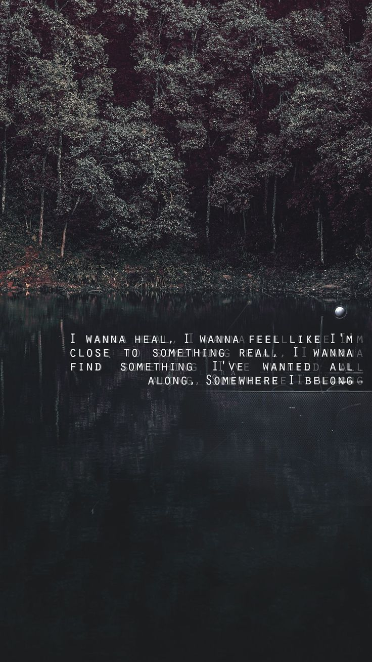 Love Quotes : Song: Somewhere I belong  Linkin Park