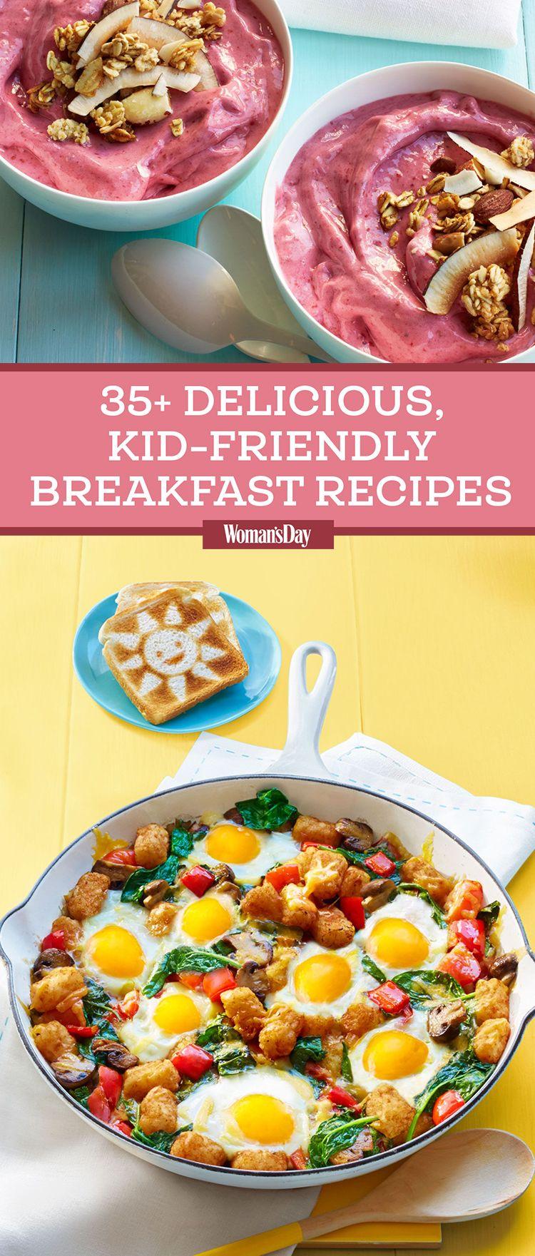 Easy Kid Friendly Breakfast Recipes To Start The Morning Off Right Kid Friendly Recipes Breakfast Kid Friendly Breakfasts Breakfast For Kids