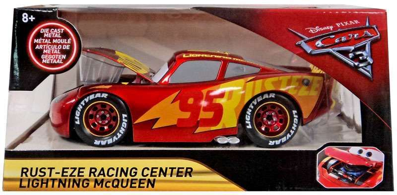 Disney Cars Cars 3 Rust Eze Racing Center Lightning Mcqueen