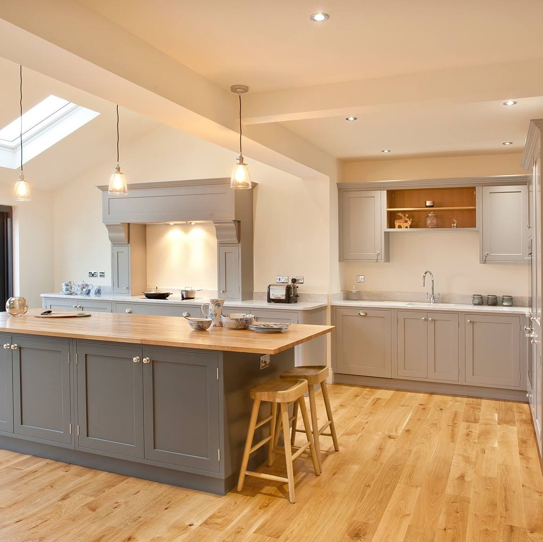 Die Kücheninsel - stilvolle Küchenform mit optischem Highlight ...
