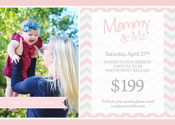 MotherS Day Mini Session Instant Download Mini Session Template