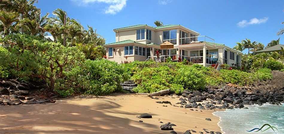 The Beach House Kauai Part - 15: Sandy Beach House - Picked By Islands Magazine In 2010 As One Of The Top  Villas In The World, This Spectacular Kauai Vacation Home Enjoys A Private  ...