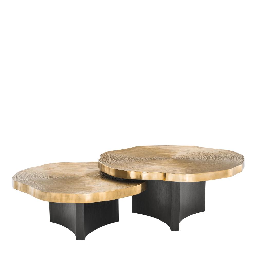 Wood Slice Nesting Coffee Table Eichholtz Thousand Oaks Oroa Coffee Table Nesting Coffee Tables Coffee Table Setting [ 1000 x 1000 Pixel ]