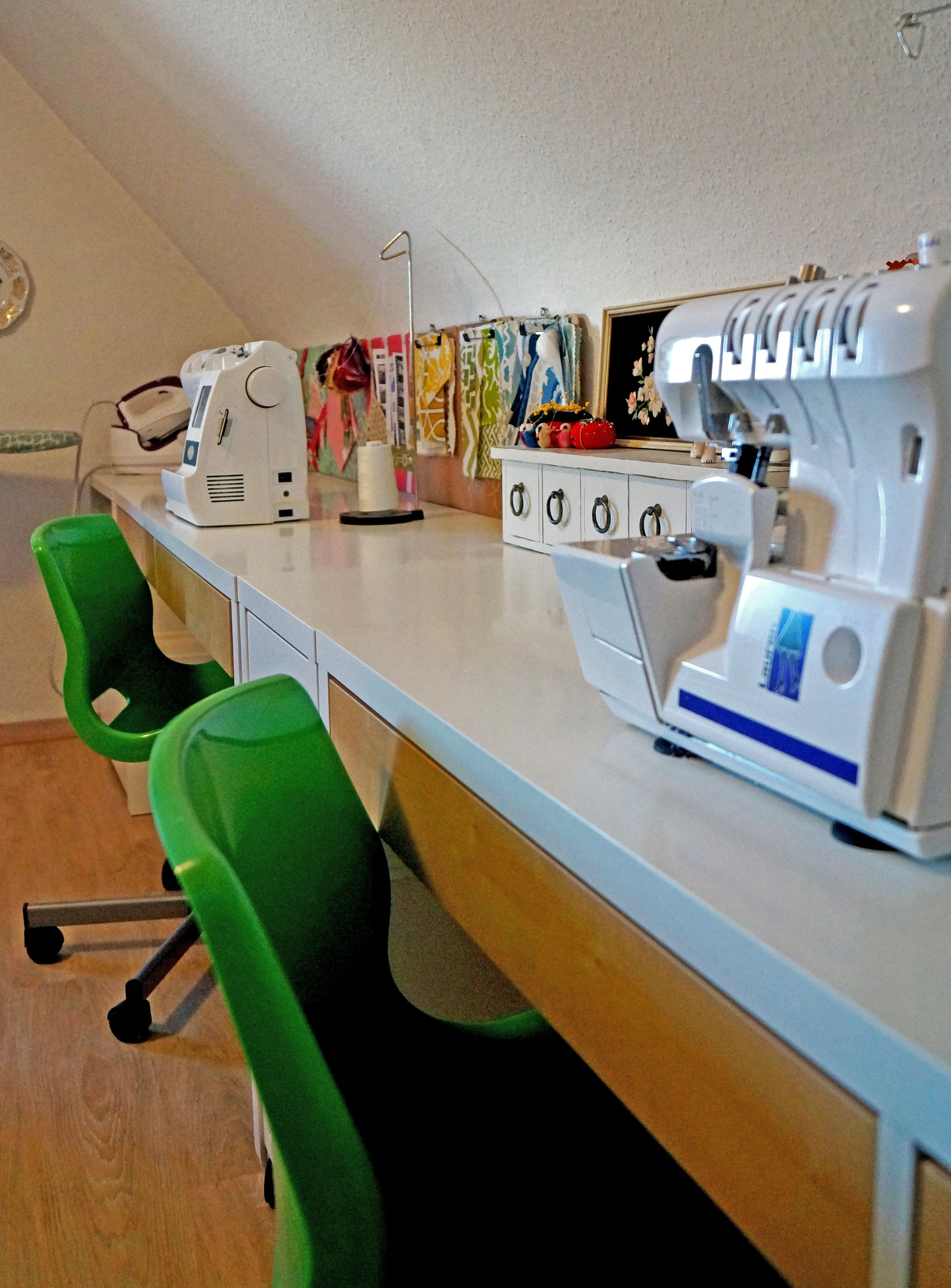 Ikea Sewing Rooms, Attic Craft