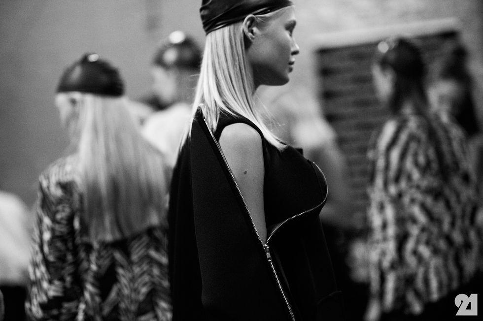 Le 21ème / Backstage at Henrik Vibskov, Spring/Summer 2014 | Copenhagen  // #Fashion, #FashionBlog, #FashionBlogger, #Ootd, #OutfitOfTheDay, #StreetStyle, #Style