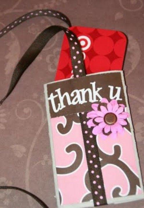 toilet paper roll gift card holder