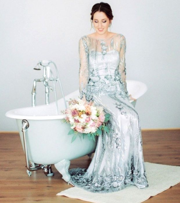 Photo extraite de 15 photos de mariées qui ont décidé de ne pas porter de robe blanche (15 photos)