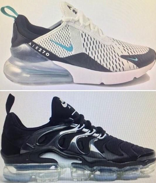 more photos 48081 3ce32 Nike Air 270 & Nike Air Vapormax Plus - To Be Debuted During ...
