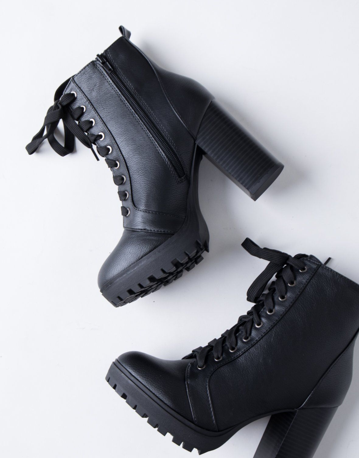 d8eb7be30c Walk the Line Boots – 2020AVE combat boots, booties, black boots, lace up  boots, high heel booties, heels, fall fashion, fall wardrobe, fashion  essentials, ...