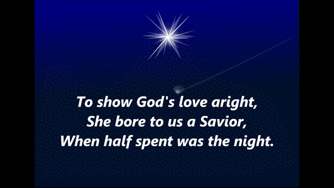 Lo How A Rose Eer Blooming Words Lyrics Christmas Advent Favorite
