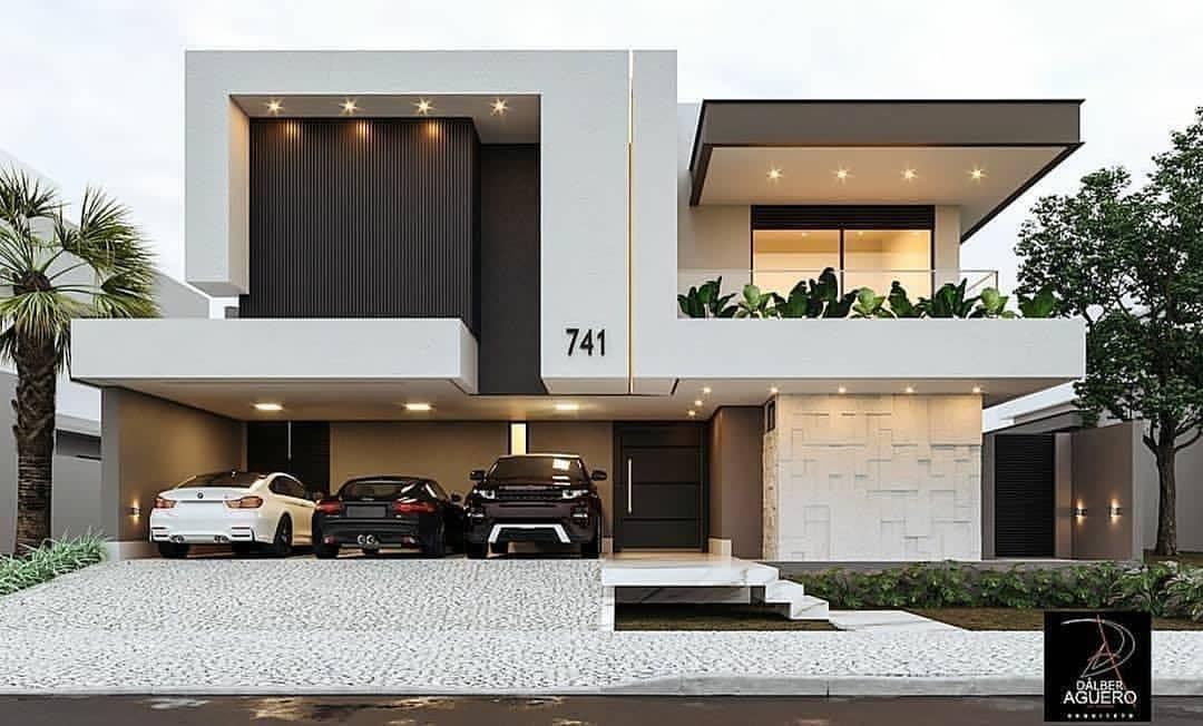 Inspirations | Luxxu | Modern Design and Living | Small house design  architecture, Modern architecture house, Modern exterior house designs