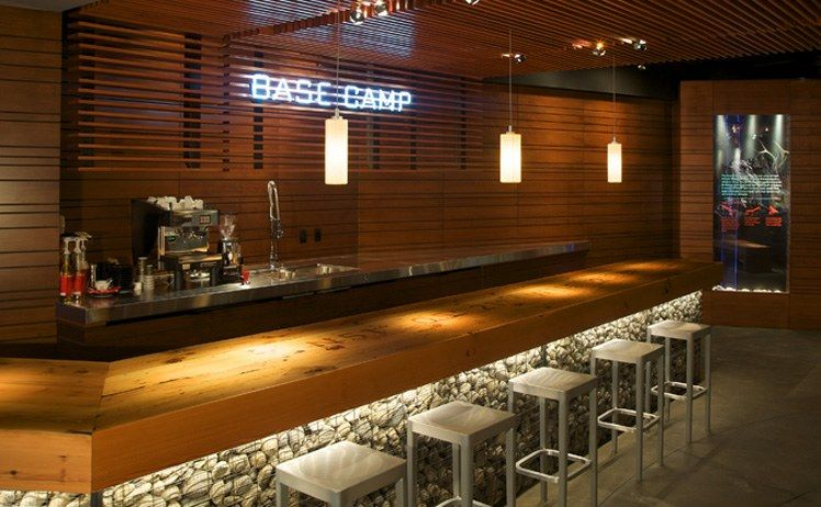 counters cafe restaurant design restaurants pinterest bar