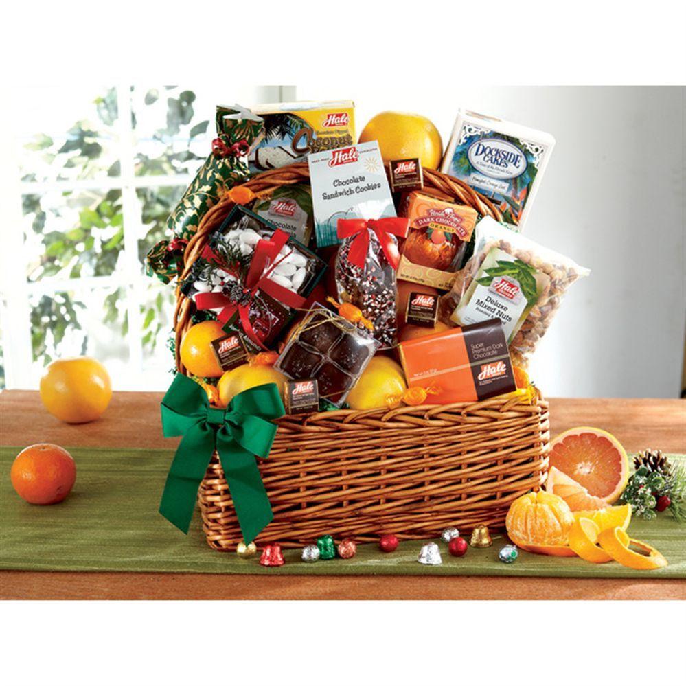 Christmas Gift Baskets Sale Fruit gifts, Christmas gift