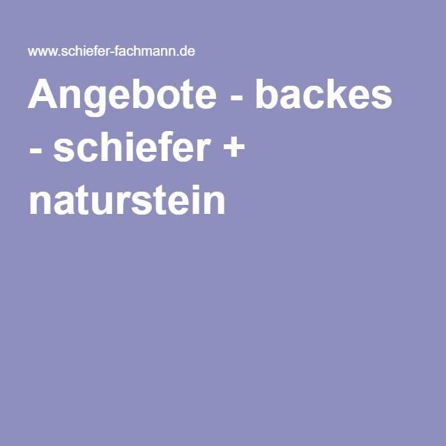 Angebote - backes - schiefer + naturstein