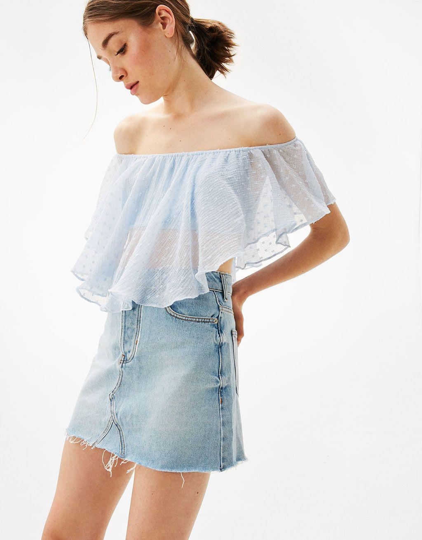 Nouveautés en vêtements pour femme - Bershka  7db57579d25