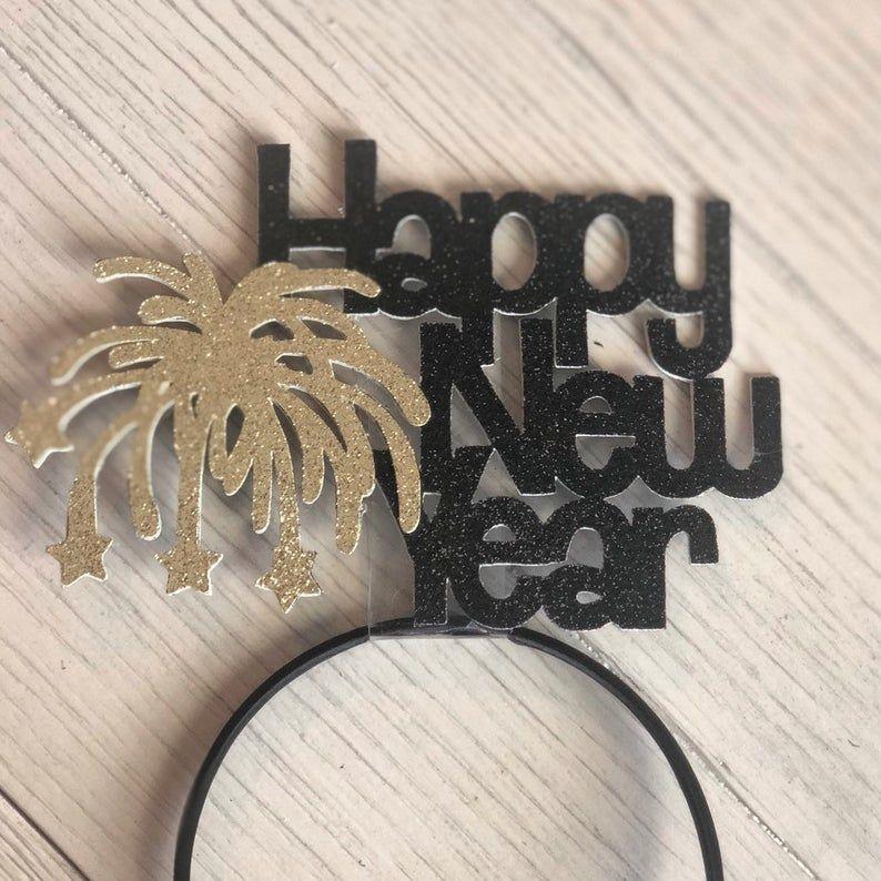 Happy New Year Headband New Years Eve Hats Party Hats