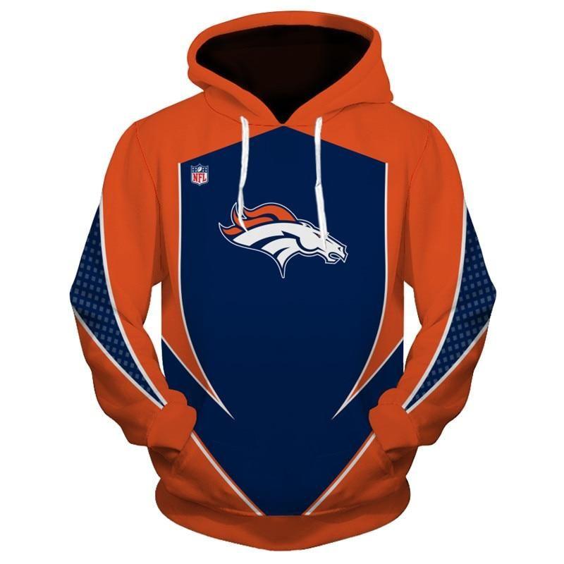 cheaper 9c9a7 d302b New Design NFL Football Denver Broncos 3D Hoodie Sweatshirt ...