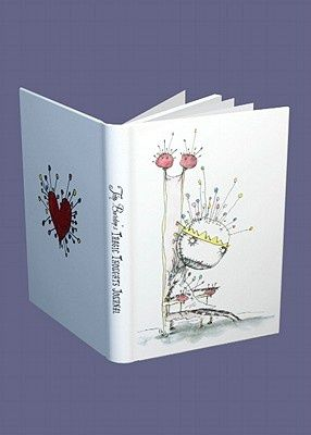"""Format:Spiral Bound, 128 pages Other Information:illustrations Published In:United States, 10 December 2003 Dark Horse brings forward something new in the  Tim Burton program, and a first in the journal category. The cover art features Burton's """"Pin Cushion Queen"""" from The Melancholy Death of Oyster Boy and Other Stories;"""