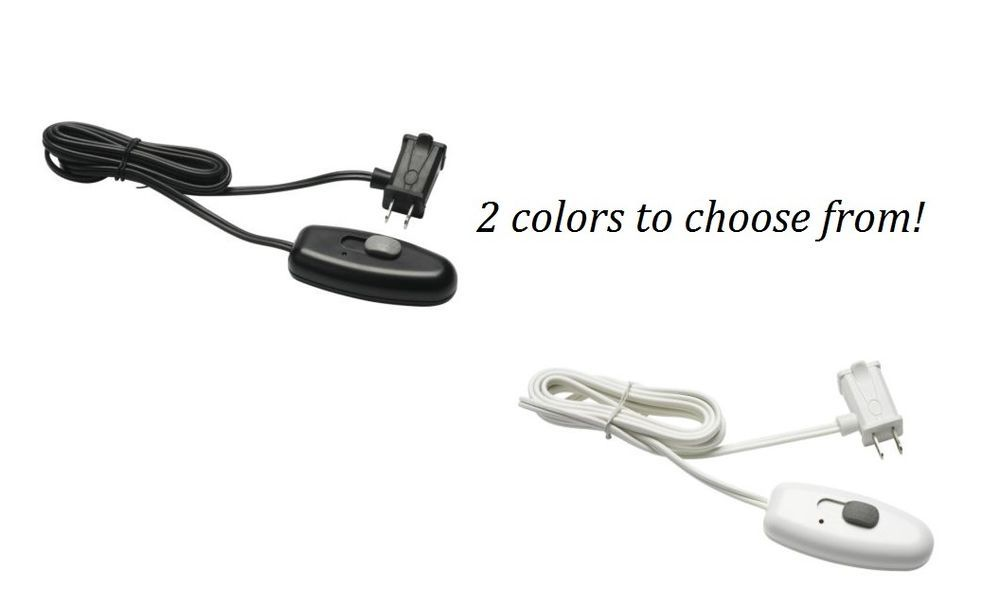 Plug In Power Cord Lamp Light Table Top Slide Dimmer On Off Switch Us Ship Light Table Lamp Light Dimmer
