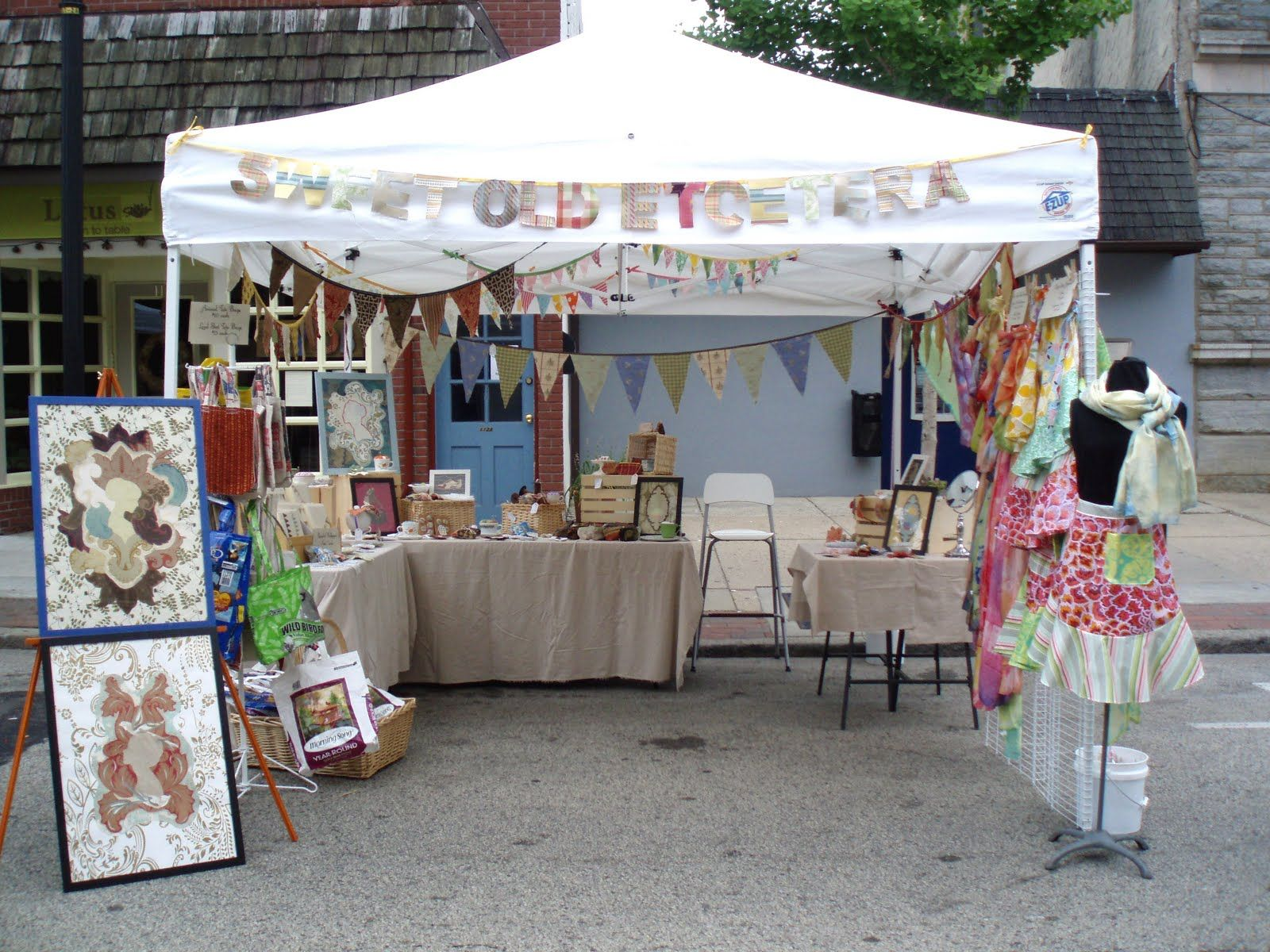 Gorgeous craft show tents google search jewelry booth for Display tents for craft fairs