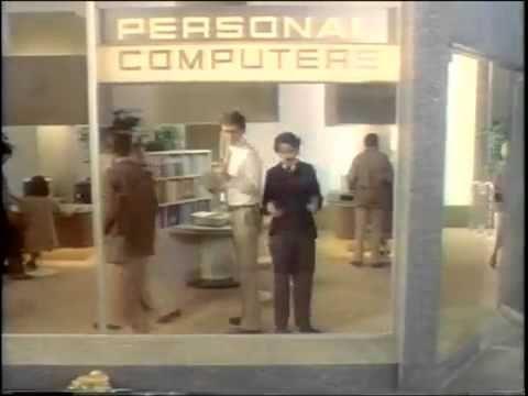 IBM'S PC Ad 1980s - YouTube