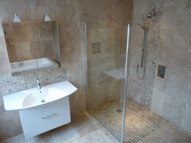 small wet bathroom pictures Building and Plumbing Services In