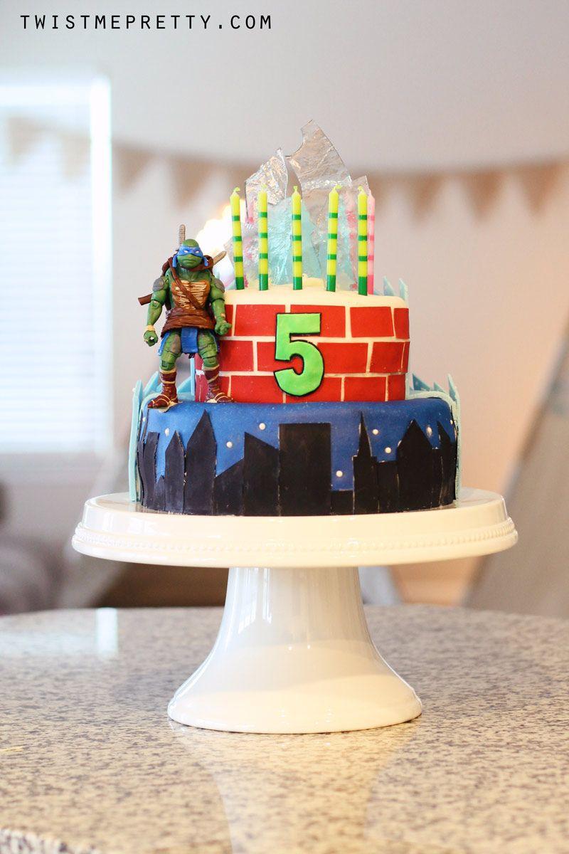 Teenage Mutant Ninja Turtle Cake Walmart