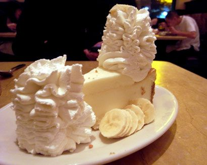 The Daily Meal Recipe Cheesecake Factory Recipes Cheesecake Recipes Banana Cream Cheesecake