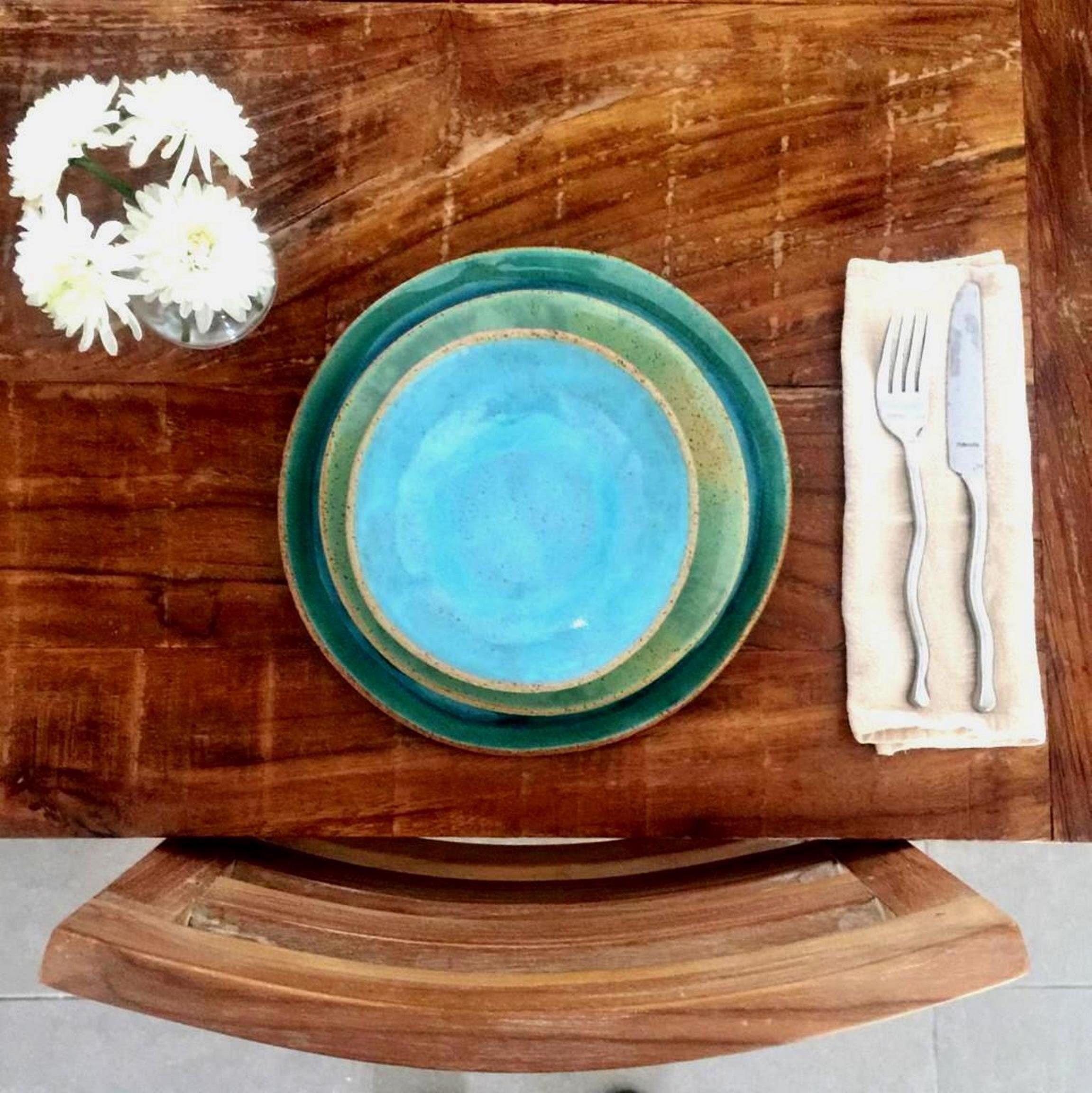Farmhouse pottery modern dinnerware set for 6812
